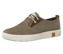 Sneaker 'Amherst Canvas Plain Toe Oxford A1A14' braun