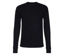Sweatshirt 'long sleeve round neckover' dunkelblau