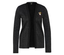 Sweat-Jacke schwarz