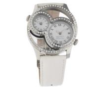 Armbanduhr Metess El101212F02 silber / weiß