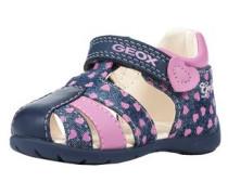 Sandalen blau / rosa