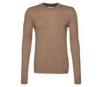 Pullover 'Gees' beige / braun