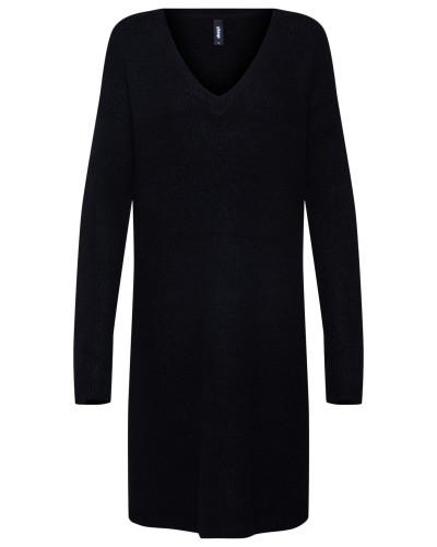 Kleid 'Button Dress' schwarz