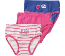3er-Pack Slips pink