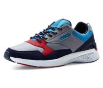 Klassische Sneaker himmelblau / grau / rot / weiß
