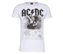 T-Shirt 'RN Acdc Tee' weiß