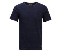 Gestreiftes T-Shirt dunkelgrau