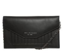 Portemonnaie mit Tragekette schwarz