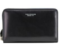 Jade Geldbörse Herrentasche Leder 18 cm Handyfach schwarz