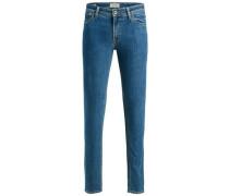 Skinny Fit Jeans 'liam Original AM 694' blue denim