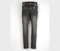 Skinny Seattle: Superstretch-Jeans schwarz