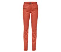 Bauchweg-Jeans rot