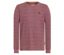 Sweatshirt 'Kommt Ein Dünnschiss Iii' pastellrot
