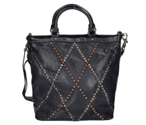 Camelia Shopper Tasche Leder 28 cm schwarz
