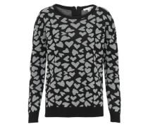 Pullover 'dotted' schwarz