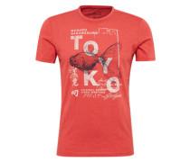 Shirt 'Tee with colorful print'