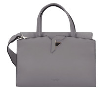 Handtasche 26 cm grau