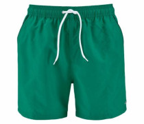 Badeshorts grün / weiß