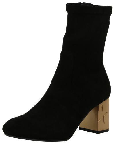 Tommy Hilfiger Damen Stiefel mit Absatz-Detail schwarz Günstig Kaufen Spielraum 3ko7WeVf