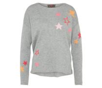 Pullover 'Annika' grau / mischfarben