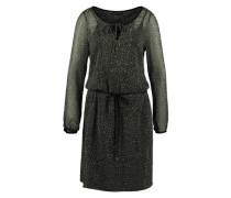 Kleid mit Transparenz 'Kim' mischfarben / grün