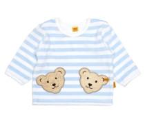 Sweatshirt langärmlig Jungen / Mädchen Baby hellblau