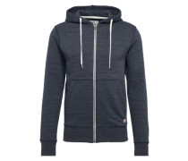 Sweatshirtjacke 'jorstorm Sweat ZIP Hood B' navy