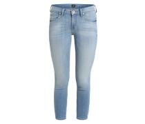 Skinny Jeans 'Scarlett Cropped' blau