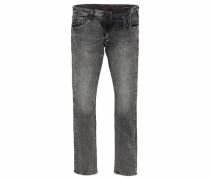 Slim-fit-Jeans 'Dan' rauchgrau