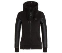 Female Zipped Jacket Black Auf Liebeskasper schwarz
