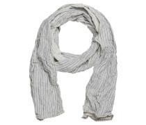 Stoff-Schal weiß