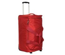 Dynamo 2-Rollen Reisetasche 77 cm rot