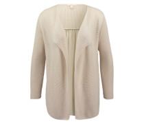 ESPRIT Cardigan im Material-Kontrast beige