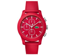 "Chronograph "" Poloshirt IN A Watch Kollek 2010825"" rot"