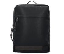 Rucksack 38 cm Laptopfach schwarz