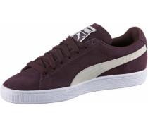 Suede Classic Sneaker aubergine