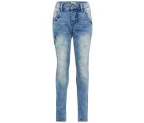 Jeans Silas Slim Fit Sweat-Denim blau