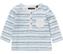 'Baby Langarmshirt' für Jungen blau