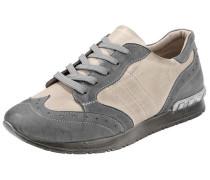 'Heine' Schnürschuh Sneaker grau / rosa