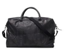 Freizeittasche Strapazierfähige Leder schwarz