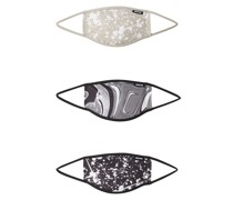 Stoffmasken '3er Pack Fluid Splat'