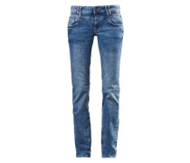 Stretchige Bluejeans blau
