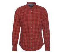 Hemd rot / schwarz