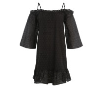 Offshoulder-Kleid 'Shawl' schwarz