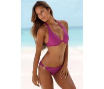 Bügel-Bikini lila
