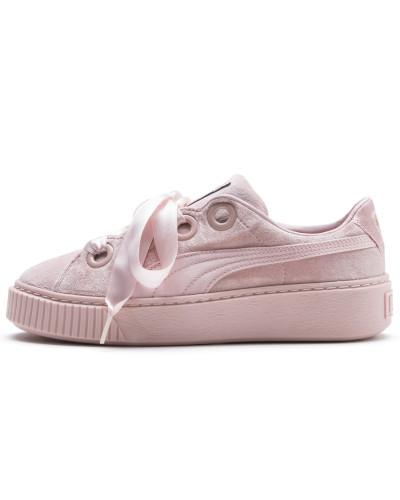 Sneaker 'Platform Kiss' hellpink