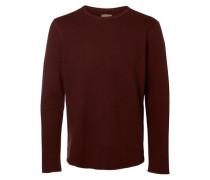 Crew-Neck-Sweatshirt schoko