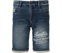 Jeansshorts für Jungen blau