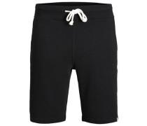 Klassische Shorts schwarz