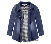 Jeanshemd + Shirt blau